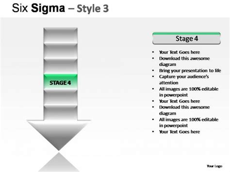 Six Sigma Style 3 Powerpoint Presentation Slides Six Sigma Ppt Free