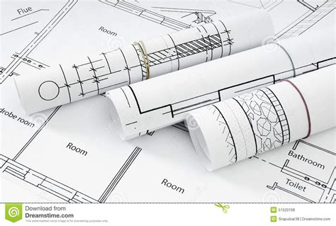Design House Blueprint Free drawings for building house working drawings stock photo