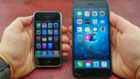 iphone one iphone 1 vs iphone 7 plus this is how far we ve come in 10 years buzz express