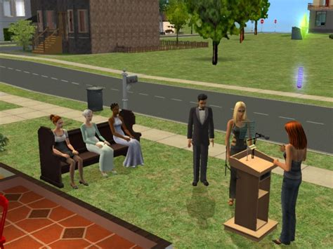 mod the sims beta testers wanted funeral project