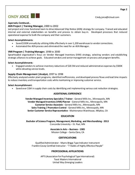 learning and development manager resume exles joice resume for director of and development