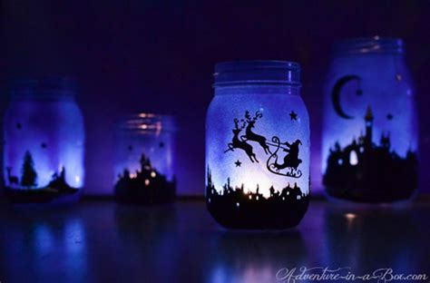 how to make christmas mason jar lanterns diy crafts
