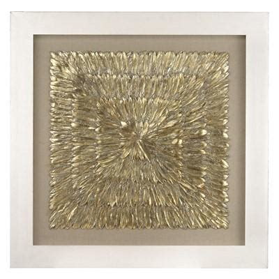 gold feather spaturral wall decor