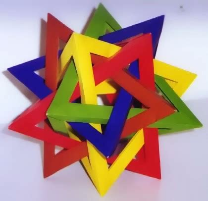 Origami Mathematical Shapes - hull gilad s origami page