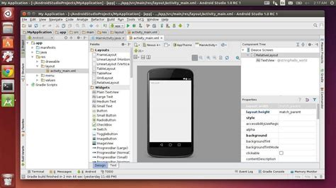 android studio linux how to install android studio in ubuntu 14 04 14 10 12 04 via ppa ubuntuhandbook