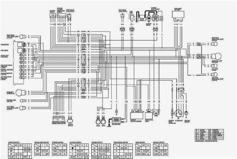 skema kelistrikan motor diagram kelistrikan tiger