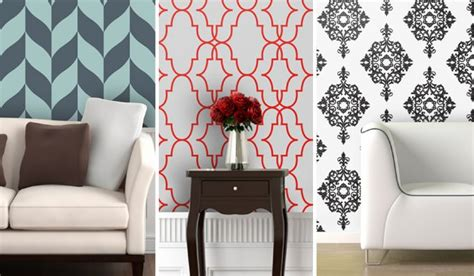 sticky wallpaper peel and stick wallpaper istyleinteriors com