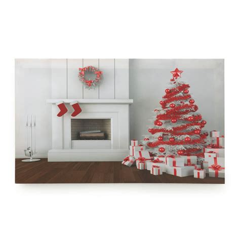 led home decor holiday fireplace led wall art wholesale at koehler home decor