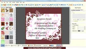 Invitation Card Making Software - new marriage card making software downloads