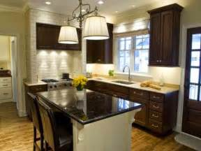 kitchen dark cabinets cabinet dark cabinets and light granite counter tops decor it darling brown