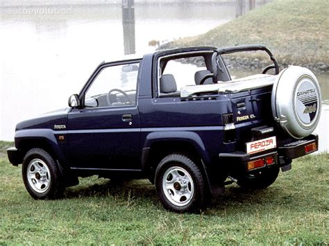 daihatsu feroza daihatsu feroza softtop specs 1995 1996 1997 1998