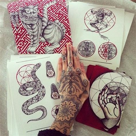 hannah tattoo sketches by pixie snowdon design