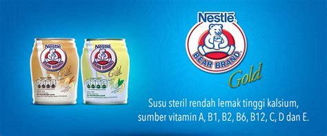 Nestle Brand Gold Malt Putih Beruang Steril Rendah Lemak sel gratis nestle brand www konteskuis