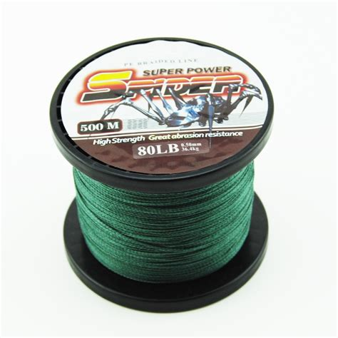 fishing line great discount superpower 500m 12lb 80lb braided