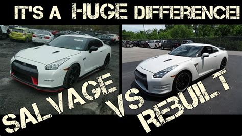 Rebuilt Title Means by The Difference Between A Salvage And Rebuilt Car