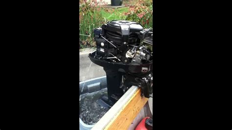 mercury outboard motor won t stay running mercury outboard 8 hp carb cleaning mov funnydog tv