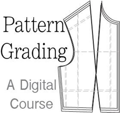 pattern grading pdf pattern grading a digital course on how to grade