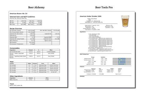 printable homebrew recipes download free forum tools comparison software pollsoftware