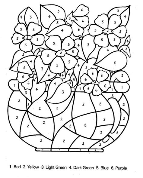 Number Coded Coloring Pages color by number coloring pages for az coloring pages