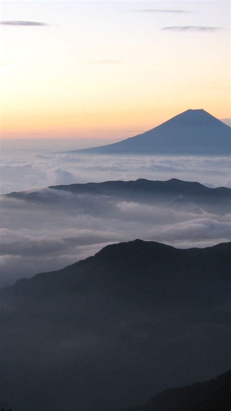 sunrise  mount fuji japan iphone wallpaper iphone