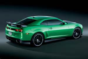 chevy debuts the camaro synergy special edition the