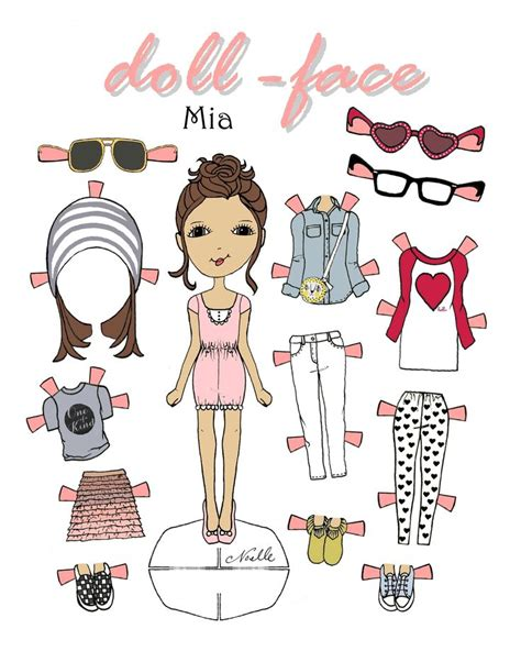 printable paper doll faces 83 best christen noelle paper dolls images on pinterest