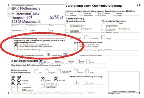 Muster Bestell Formular taxi holl fahrten zur dialyse strahlen oder chemotherapie