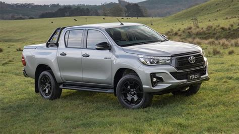 most rugged 4x4 toyota hilux 2018 range to expand with rogue rugged and rugged x models car news carsguide