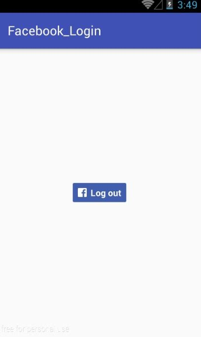 facebook login layout android android facebook based login tutorial part 2
