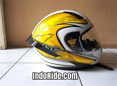 Helm Kbc Putih Review Helm Kbc V Zero White Yellow Helm Racing Harga