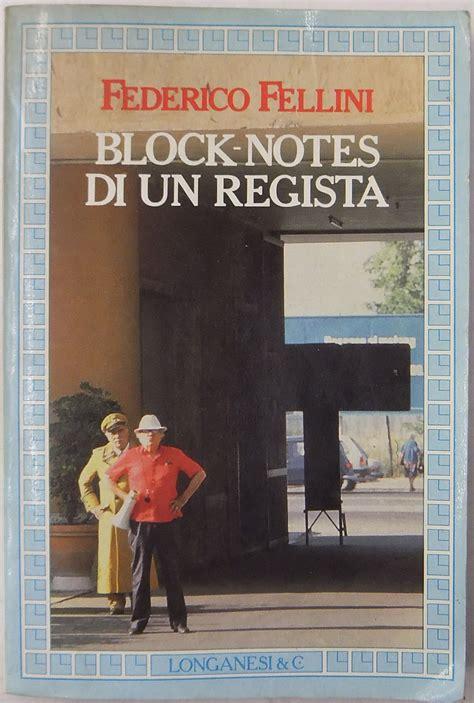 fuori testo block notes di un regista postfazione di jacqueline