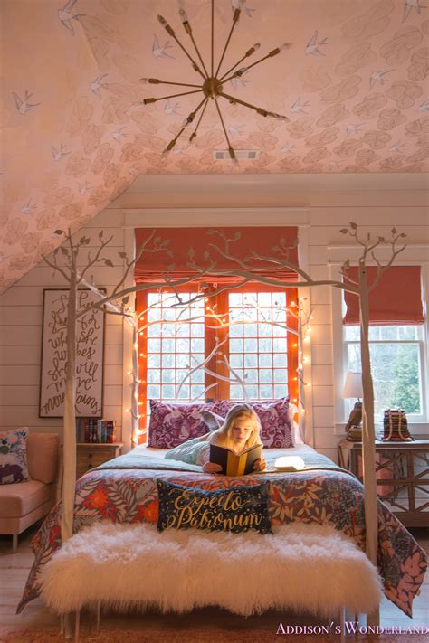 Themed Bedroom by Creating A Beautiful Harry Potter Themed Bedroom For