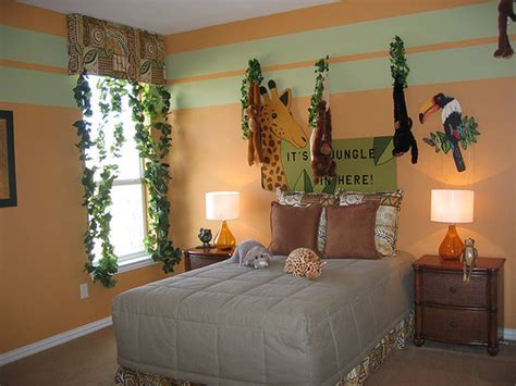 How to decorate Safari Themed Bedroom     Interior