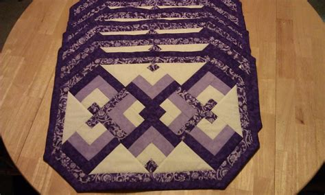 Quilting Placemat Patterns by You To See Knot Placemats By Mzliz