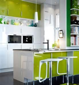 des cuisines en couleur