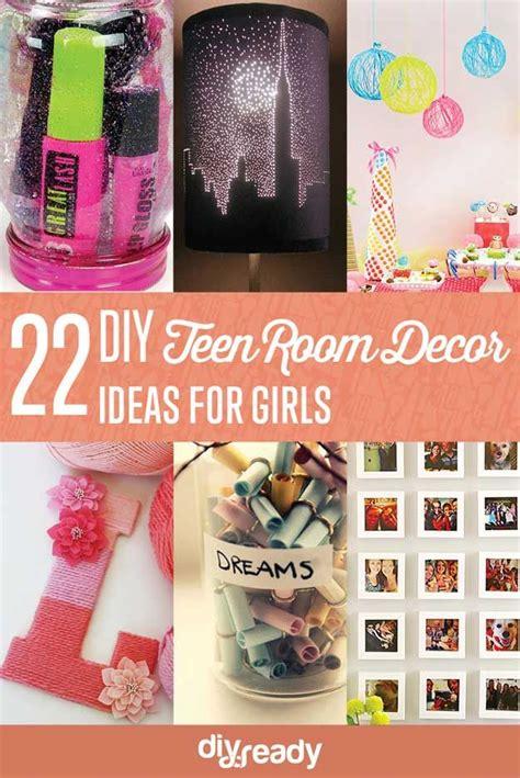 craft ideas for girls bedroom 22 easy diy teen room decor ideas for girls by diy ready