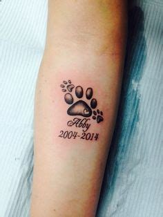 rip dog tattoos 1000 ideas about memorial tattoos on