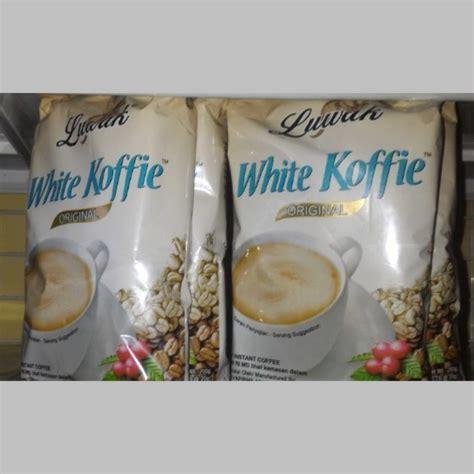 Minuman Luwak White Coffee 20gr luwak white coffee 10 s ub baitul makmur
