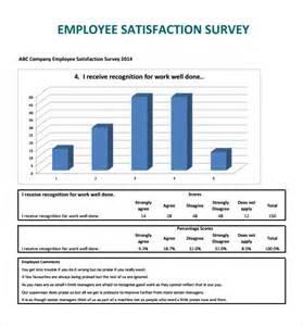 employee satisfaction survey templates 7 samples