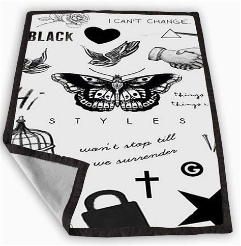 harry styles tattoo comforter one direction harry styles tattoos from bukaksitik com
