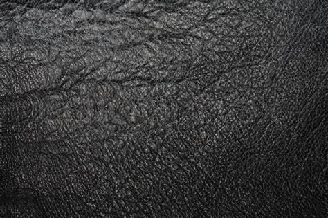 Worn Leather by Worn And Cracked Black Leather Texture Stock Photo