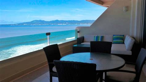 beachfront apartment  ocean terrace  nuevo vallarta