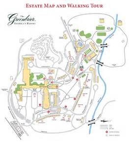 the greenbrier the greenbrier estate map