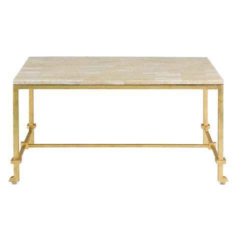 Classic Hollywood Regency Gold Leaf Coffee Table Kathy Coffee Table Gold