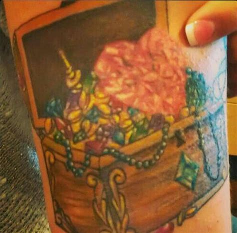 treasure chest tattoo treasure chest gotta