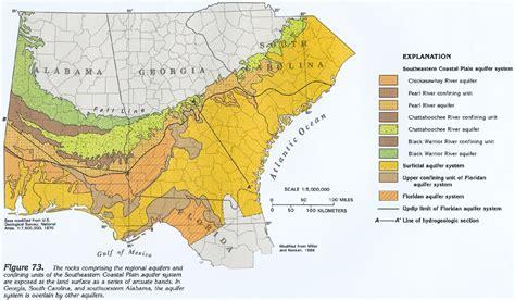 gulf coastal plain map ha 730 g southeastern coastal plain aquifer system text