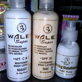 Walet Bleaching Gluthation Memutihkan Dlm 3x Pemakaian paket walet lotion whitening termurah shop