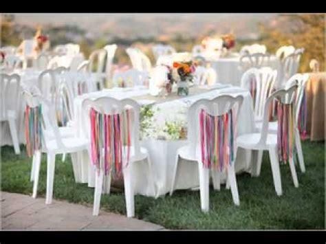 Easy DIY ideas for backyard wedding decorations   YouTube