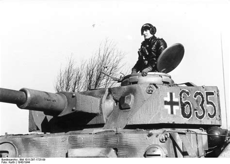 panzer commander photo tank commander and his panzer iv tank of german 12th ss panzer division hitlerjugend