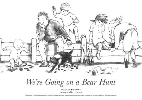 coloring pages for going on a bear hunt lu bird baby may 2012